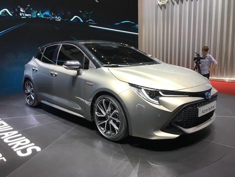 Toyota dévoile l'Auris 3 en live du salon de Genève 2018