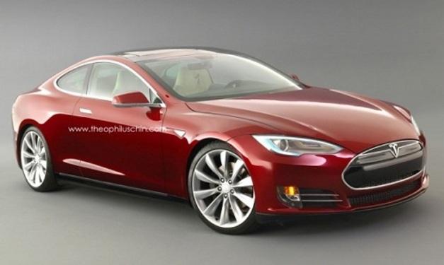 Un amateur imagine la Tesla Model S coupé