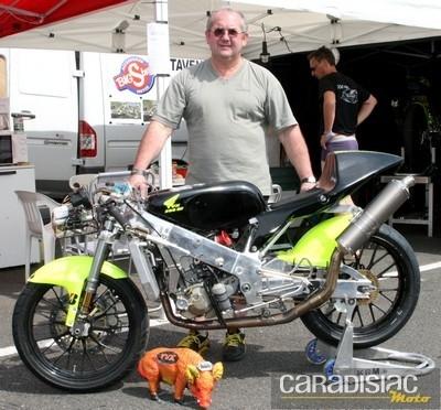 Moto 3 : TVX Racing : objectif : deux motos avec deux pilotes français.