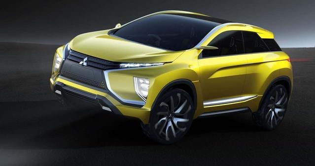 Salon de Genève 2016 - Mitsubishi eX-Concept : 400 km en électrique