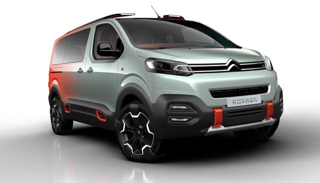 Salon de Genève 2016 - Citroën SpaceTourer Hyphen : musical et coloré