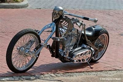 John Farr's Skeleton Bike