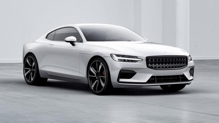 Polestar 1, la GT hybride suédoise — Salon de Genève