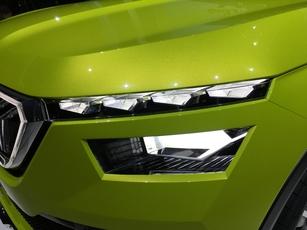 Les optiques sont à double étage, comme pour tous les SUV de la marque.