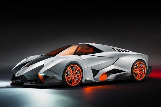 Lamborghini Egoista: la cinquantaine égoïste