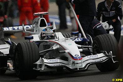 Formule 1 - Belgique D.2: Heidfeld se fait du bien