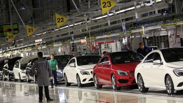 Résultats financiers : Mercedes est en pleine forme