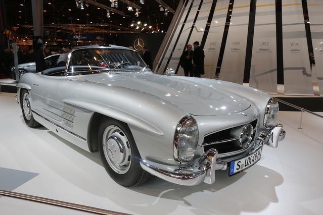 Rétromobile 2016 - Mercedes présente deux modèles légendaires (vidéo)