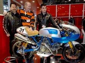 Ducati US: Borgo Panigale se remémore sa période bleue