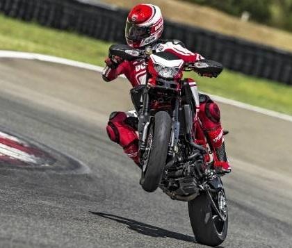 Nouveauté - Ducati: l'Hypermotard s'habille en Ducati Corse