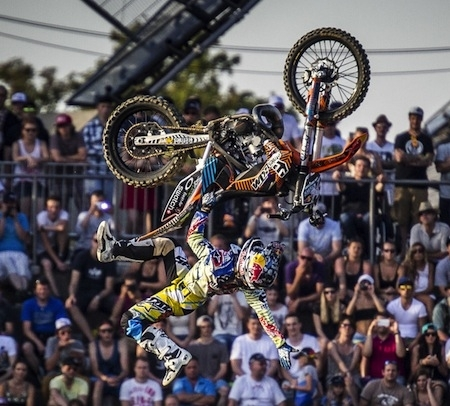 Red Bull X-Fighters, Munich 2014: Sheehan était le plus fort