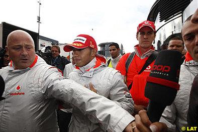 Formule 1 - Belgique: Hamilton crie à l'injustice