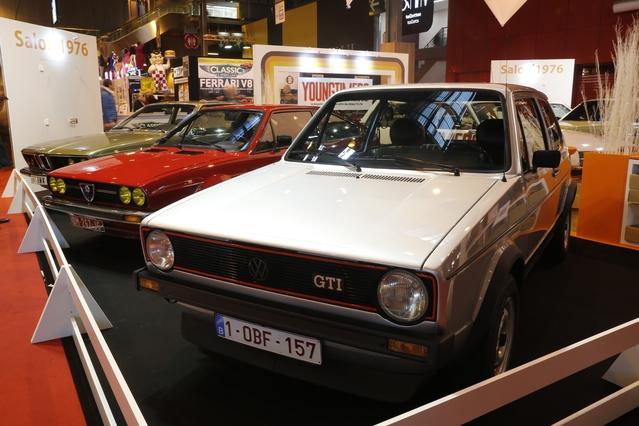Rétromobile 2016 - Les youngtimers fêtent l'année 1976 (vidéo)