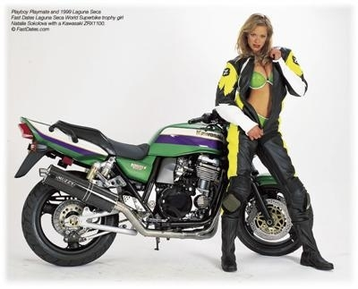 Moto & Sexy : la playmate et la bête