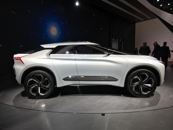 Mitsubishi e-Evolution Concept : SUV et électrique - En direct du salon de Genève 2018