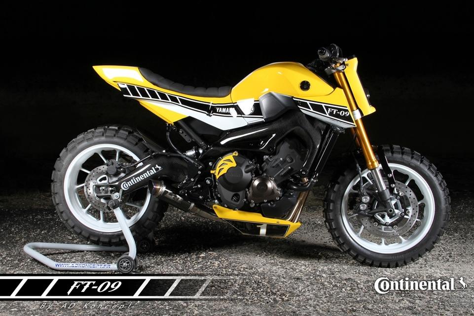 Préparation : Yamaha FT-09 par AD Koncept