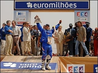 Dakar 2007 : Despres sur le podium