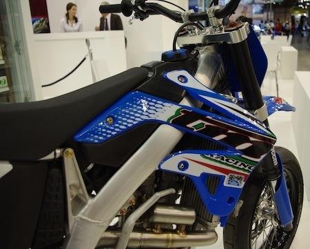 Salon de Milan 2011: TM façon supermotard