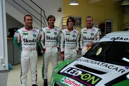 Trophée Andros 2010 : Skoda présente sa voiture et ses équipages