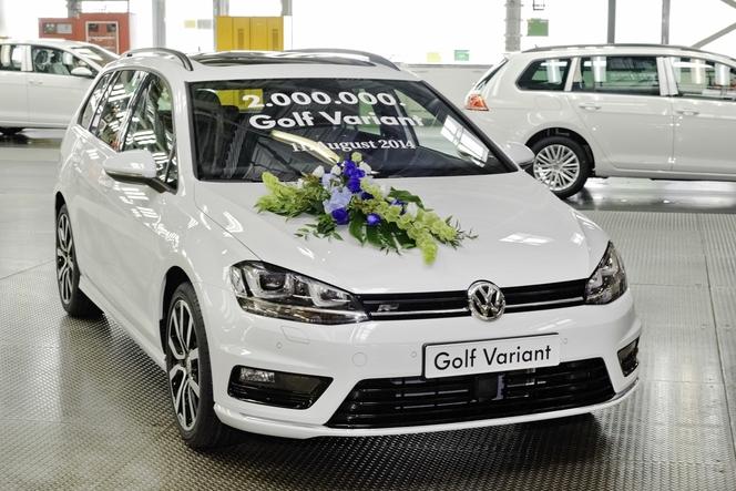 2 millions de Volkswagen Golf SW produites