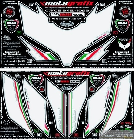 Bihr kit numéro Motografix : pour un plus en racing.