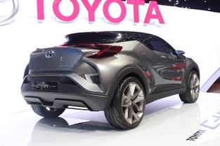 Spyshots : le Toyota C-HR se prépare