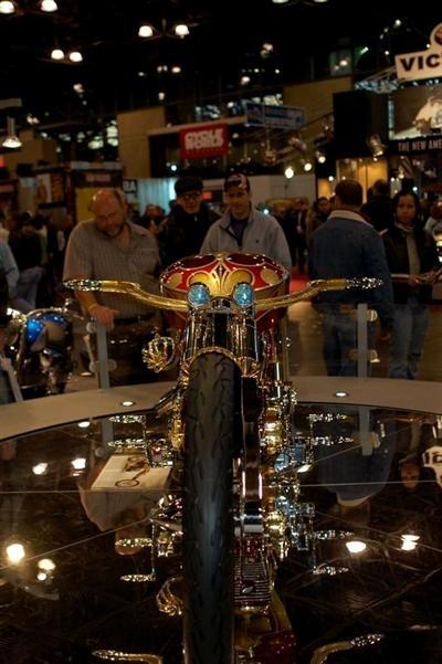 Visite à l'International Motorcycle Show de New York 2007