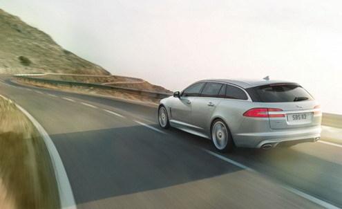 Genève 2012 : la Jaguar XF Sportbrake en fuite (nouvelles photos et infos)