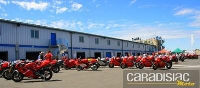 Ducati Club de France: les anciennes ont aussi leur place: rencontre avec Olivier...