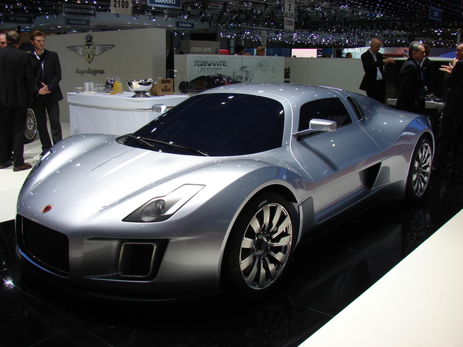 La Gumpert Tornante en direct de Genève : pas finie (+ video)