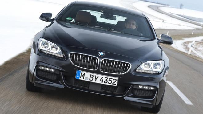 La BMW 640d aussi avec la transmission xDrive