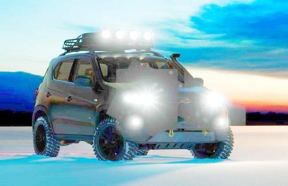 Salon de Moscou - Le concept Chevrolet Niva en teasing