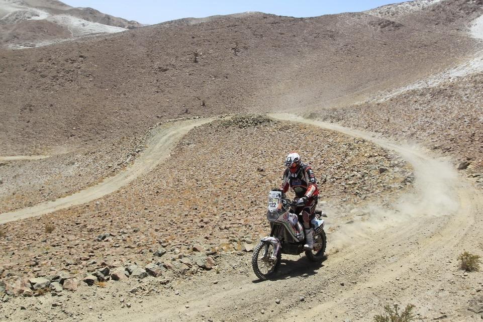 Dakar 2013 : Les aventures d'Eric Palante,  Belge et amateur