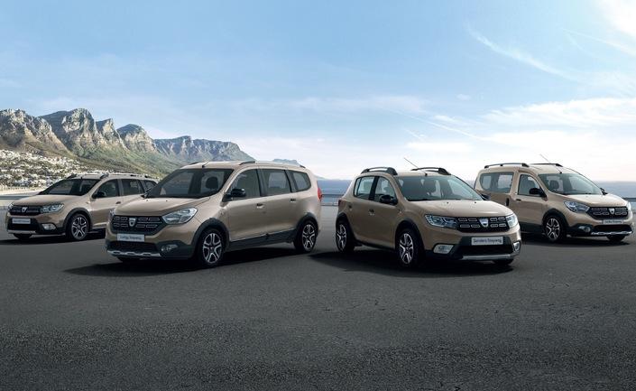 Dacia: les Stepway en série limitée Advance - En direct du Salon de Genève 2018
