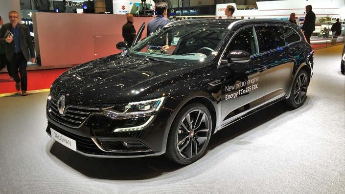 renault talisman 1 8 tce 225 greffe d 39 alpine en direct du salon de gen ve 2018. Black Bedroom Furniture Sets. Home Design Ideas