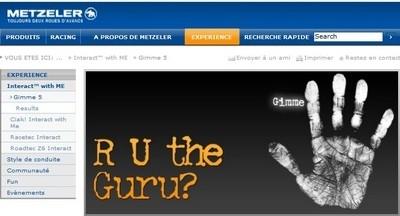 Jeu concours : Metzeler part en quête de son « gourou » !