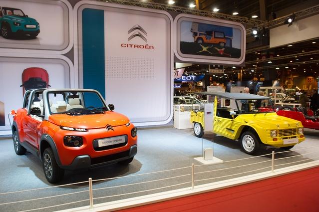 Citroën : les ventes aux enchères de Rétromobile au profit de la communication
