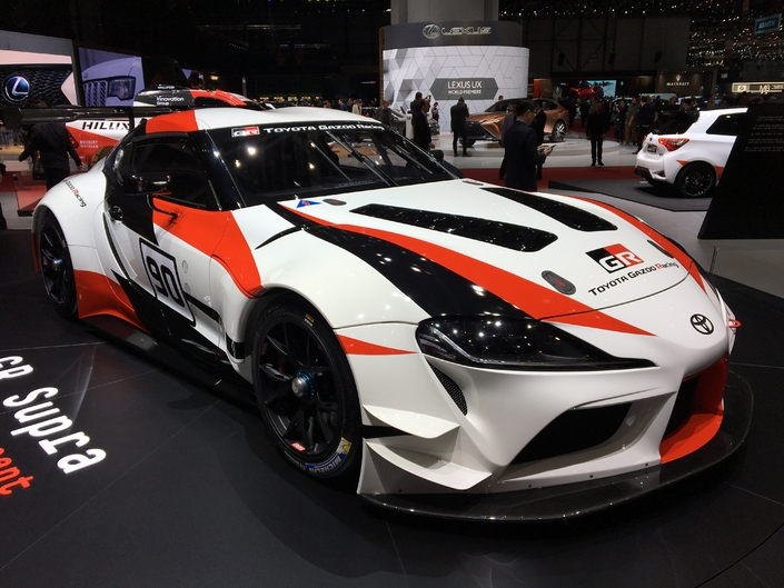Toyota GR Supra Racing Concept : en attendant la version route - Vidéo en direct du Salon de Genève 2018