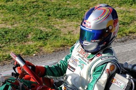 Carlos Sainz Junior sur les traces de ... Vettel !