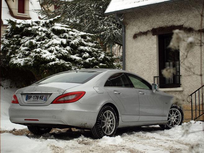 Essai - Mercedes CLS 250 CDI : candeur et opulence