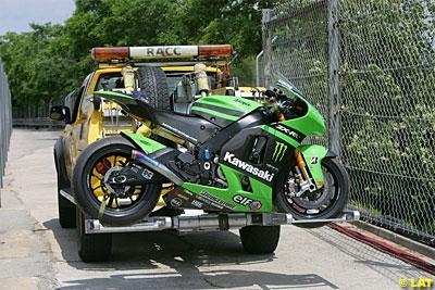 Moto GP - Retrait de Kawasaki: Jorge Martinez ne foncera pas tête baissée