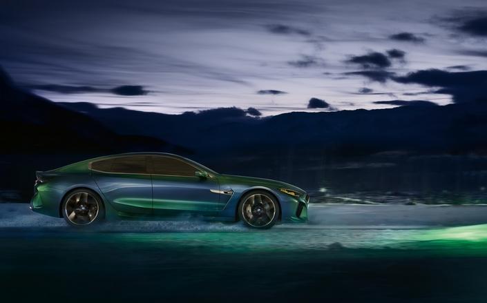 Salon de Genève 2018 - BMW dévoile le concept M8 Gran Coupé concept