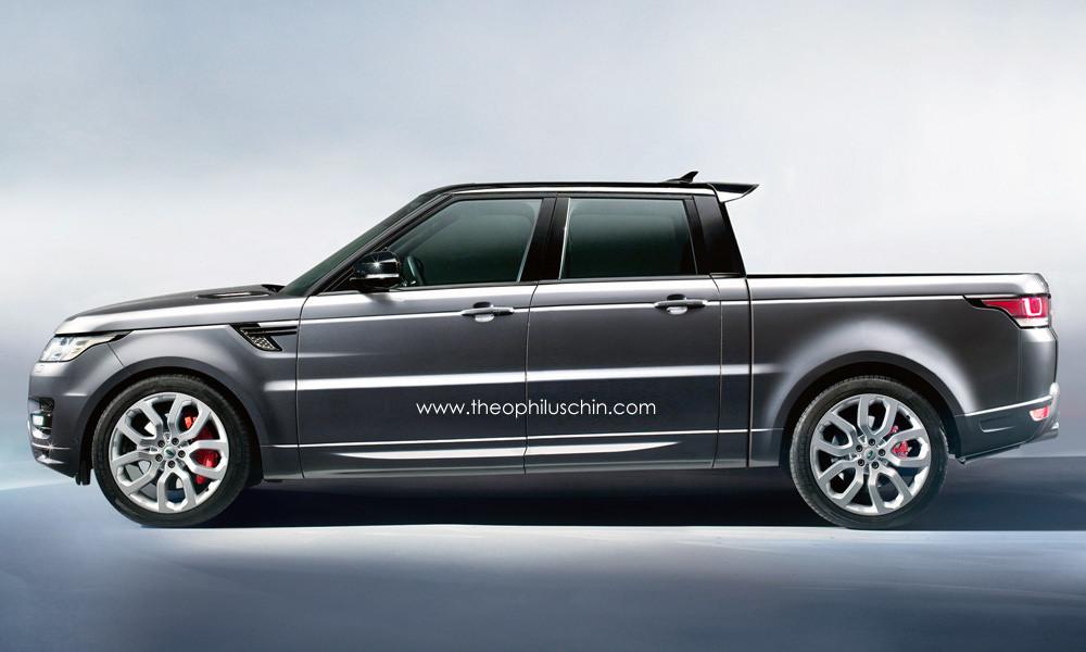 range rover sport pick up comme a. Black Bedroom Furniture Sets. Home Design Ideas