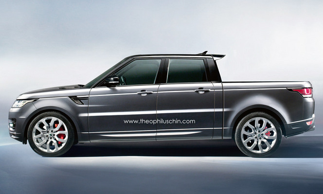 range rover sport pick up comme a. Black Bedroom Furniture Sets. Home Design Ideas