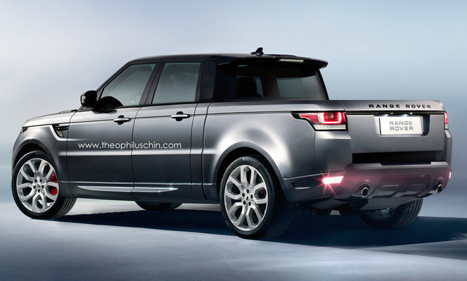 Range Rover Sport Pick-Up : comme ça ?