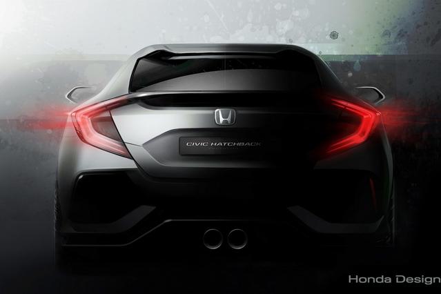 Salon de Genève 2016 - Honda Civic prototype : la compacte est en chemin