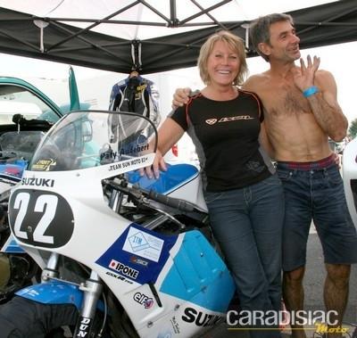 Interview de Patricia Audebert, 6ème du classement général final de la catégorie Classic 17.