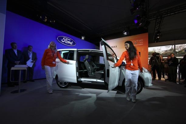 Ford dévoile le B-Max à Barcelone