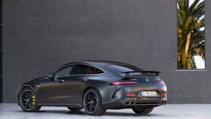 Mercedes dévoile la berline AMG GT - Salon de Genève 2018