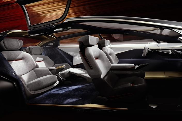 Aston Martin Lagonda Vision concept : électro-baroque - En direct du salon de Genève 2018